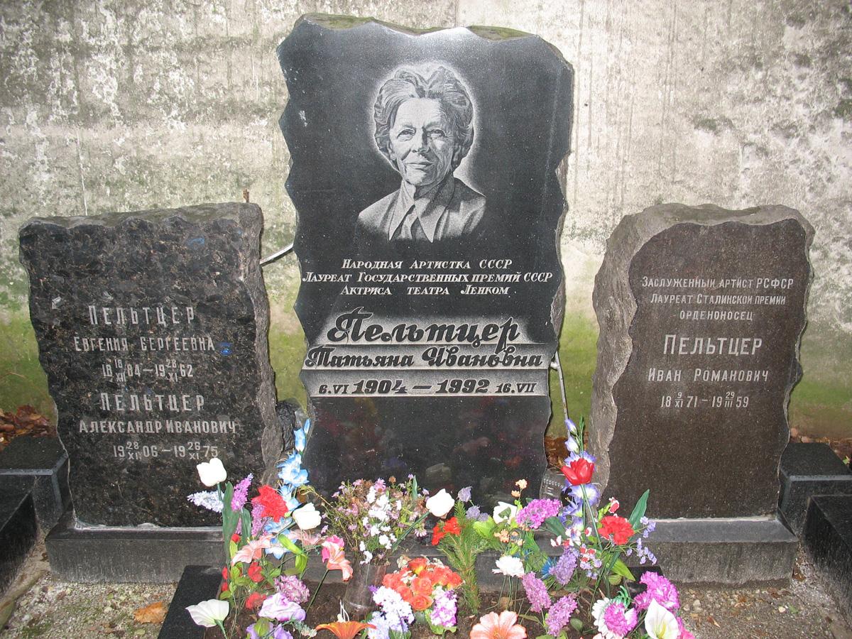 фаина раневская могила фото